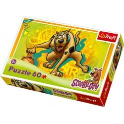 Trefl - 17223 - 60 Elementów - Scooby - Doo - Bieg do Kosza