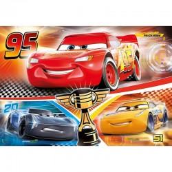 CLEMENTONI Puzzle w Ramce CARS Auta 15 el. 22232