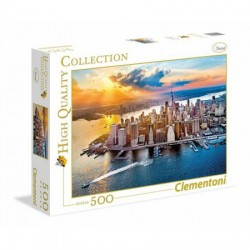 CLEMENTONI Puzzle 500 el. High Quality Collection NOWY JORK 35038