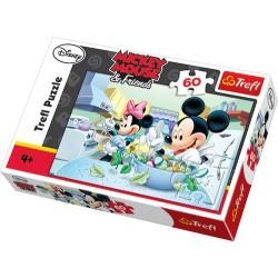 Trefl - 17145 - 60 Elementów - Mickey Mouse & Friends - Sałatka