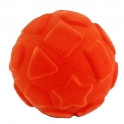 RUBBABU Pomarańczowa Piłka Sensoryczna ze Wzorami Geometrycznymi 20313