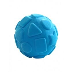 RUBBABU Turkusowa Piłka Sensoryczna ze Wzorami Geometrycznymi 20313