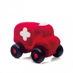 RUBBABU Czerwony Pojazd KARETKA POGOTOWIA 20111