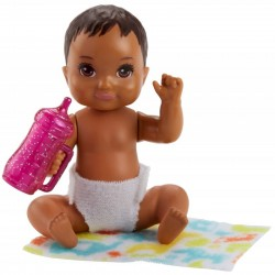 MATTEL Barbie Skipper Opiekunka LALECZKA BOBAS + Akcesoria FHY81