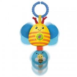 Smily Play - 0223 - Zwierzaczki Grzeczniaczki - Grzechotka z dźwiękami - Pszczółka