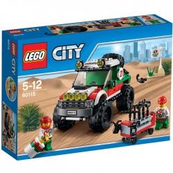 LEGO CITY 60115 Terenówka NOWOŚĆ 2016