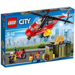 LEGO CITY 60108 Helikopter Strażacki NOWOŚĆ 2016