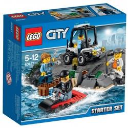 LEGO CITY 60127 Więzienna Wyspa - Zestaw Startowy NOWOŚĆ 2016