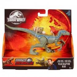 Mattel Jurassic World Figurka Dinozaur VELOCIRAPTOR BLUE GFG67