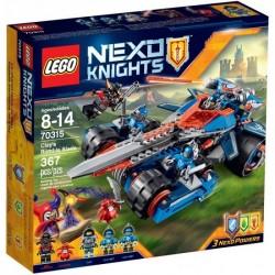 LEGO NEXO KNIGHTS 70315 Pojazd Claya NOWOŚĆ 2016