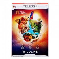 Mattel View Master Wirtualna Rzeczywistość DZIKA PRZYRODA Rozszerzenie DLL71