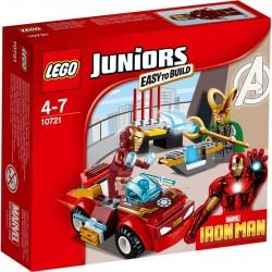 LEGO JUNIORS 10721 Iron Man Kontra Loki NOWOŚĆ 2016