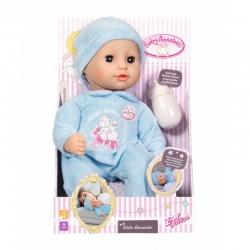 ZAPF CREATION Baby Annabell MAŁY ALEXANDER Lalka w Niebieskim Ubranku 702567
