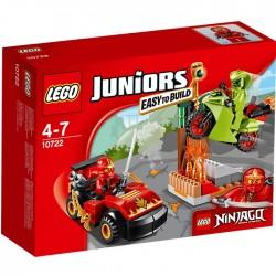 LEGO JUNIORS 10722 Ninjago Starcie z Wężem NOWOŚĆ 2016