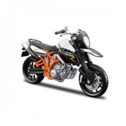 Bburago Metalowy Model do Składania KTM 990 SM Motocykl w skali 1:18 0142