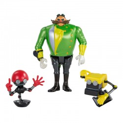 TOMY Sonic Boom Zestaw Figurek DOKTOR EGGMAN, ORBOT, CUBOT T22514