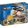 LEGO CITY 60248 Helikopter Strażacki leci na ratunek