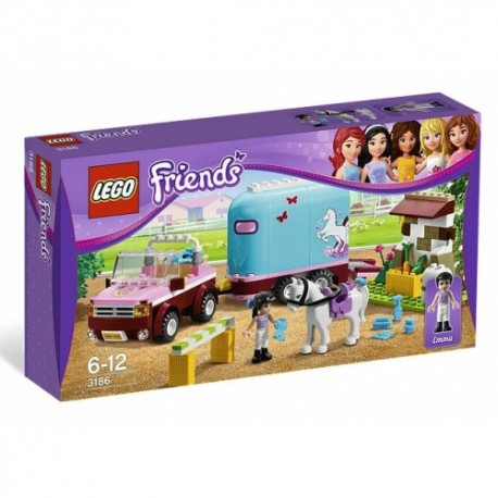 LEGO FRIENDS 3186 Przyczepa dla Konia Emmy