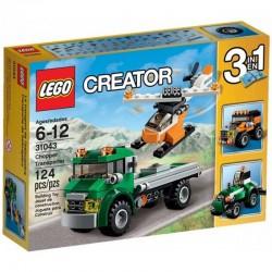 LEGO CREATOR 31043 Transporter Helikopterów NOWOŚĆ 2016