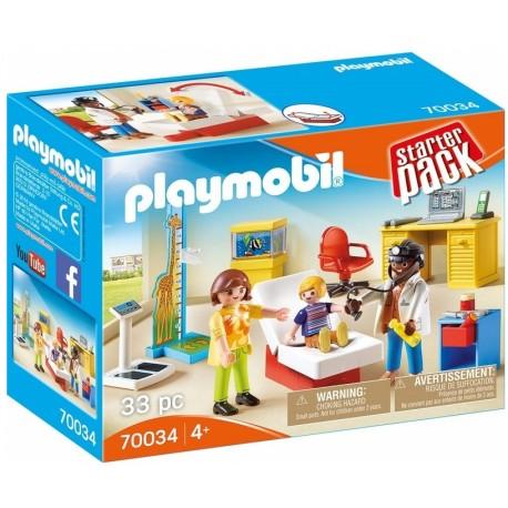 PLAYMOBIL 70034 Starter Pack LEKARZ DZIECIĘCY