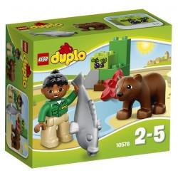 LEGO DUPLO 10576 Opiekunka w ZOO