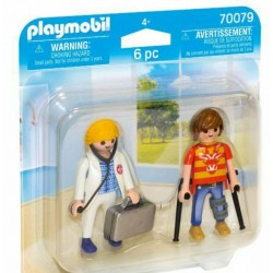 PLAYMOBIL 70079 Duo Pack LEKARKA I PACJENT