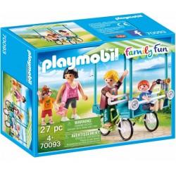 PLAYMOBIL 70093 Family Fun ROWER RODZINNY
