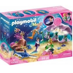 PLAYMOBIL 70095 Magic LAMPKA NOCNA ,,MUSZELKA""