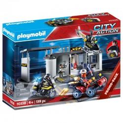 PLAYMOBIL 70338 City Action PRZENOŚNA CENTRALA JEDNOSTKI SPECJALNEJ