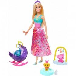 MATTEL Dreamtopia Lalka Barbie BAŚNIOWE PRZEDSZKOLE GJK51