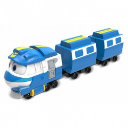 Silverlit Robot Trains POCIĄG KAY Zestaw Deluxe 80192