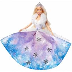 MATTEL Dreamtopia Lalka Barbie Księżniczka LODOWA MAGIA GKH26