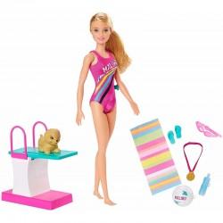 Mattel Barbie Dreamhouse Adventures LALKA PŁYWACZKA GHK23