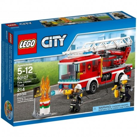 LEGO CITY 60107 Wóz Strażacki z Drabiną NOWOŚĆ 2016