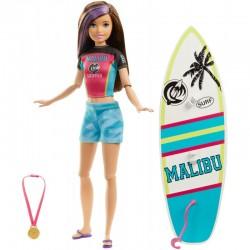 Mattel Barbie Dreamhouse Adventures Lalka SKIPPER SURFERKA GHK36