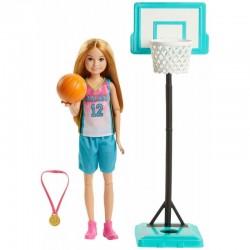 Mattel Barbie Dreamhouse Adventures Lalka STACIE KOSZYKARKA GHK35