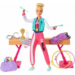 Mattel Barbie You Can Be Anything GIMNASTYCZKA GJM72
