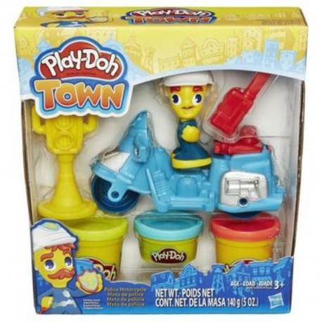 Ciastolina Play-Doh - B5975 - Town - Policja