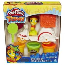 Ciastolina Play-Doh - B5976 - Town - Dostawca Pizzy