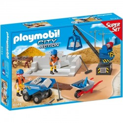 PLAYMOBIL 6144 CITY ACTION Plac Budowy