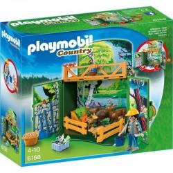 PLAYMOBIL 6158 COUNTRY Karmienie Leśnych Zwierząt
