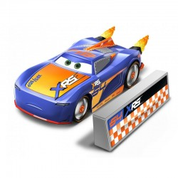 Mattel CARS Rocket Racing BARRY DEPEDAL Z OGNIEM GKB91