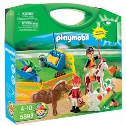 PLAYMOBIL 5893 COUNTRY Przenośna Walizka - Farma z Końmi
