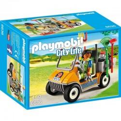 PLAYMOBIL 6636 CITY LIFE Samochód Pracownika ZOO