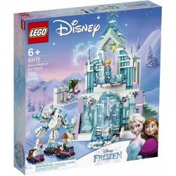 LEGO 43172 Disney Kraina Lodu Frozen 2 Magiczny Lodowy Pałac Elsy