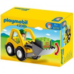 PLAYMOBIL 6775 PLAYMOBIL 1.2.3 Koparka