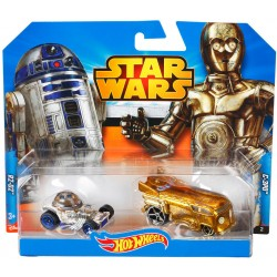 Hot Wheels STAR WARS Pojazdy R2-D2 i C-3PO CGX04