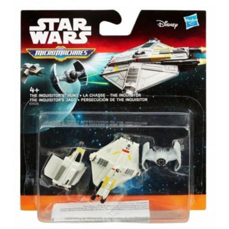 Hasbro STAR WARS Micro Machines THE INQUISITOR'S HUNT Łowca Inkwizytora B3508