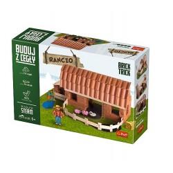 TREFL Brick Trick Buduj z Cegieł RANCZO 60879