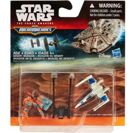 Hasbro STAR WARS Micro Machines DESERT INVASION B3502